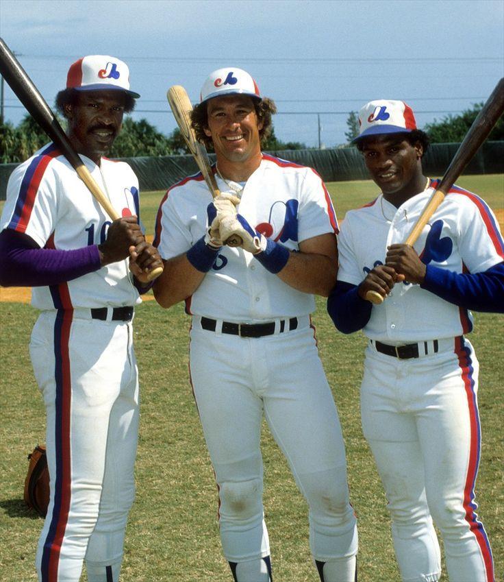 Andre Dawson, Gary Carter, Tim Raines - Montreal Expos