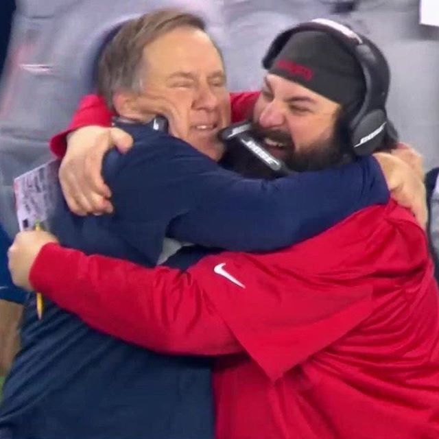 Bill Belichick and Matt Patricia, football's 2 defensive greats! #futbolmemes