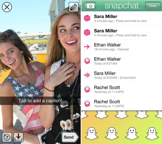 Make fun as Social Photo Captions using iPhone5 – Snapchat iOS App