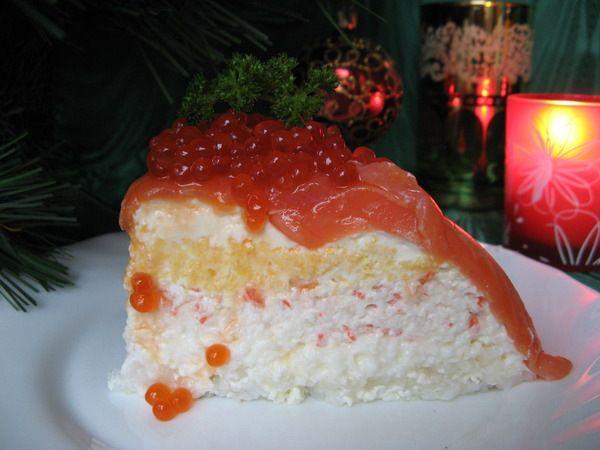 (1262) Gallery.ru / Фото #2 - Соблазнительный дизайнерский рыбный торт - zabelo4ka