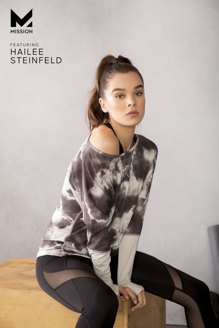 In workout clothes - Hailee Steinfeld - Sale! Up to 75% OFF! Shot at Stylizio for women's and men's designer handbags, luxury sunglasses, watches, jewelry, purses, wallets, clothes, underwear