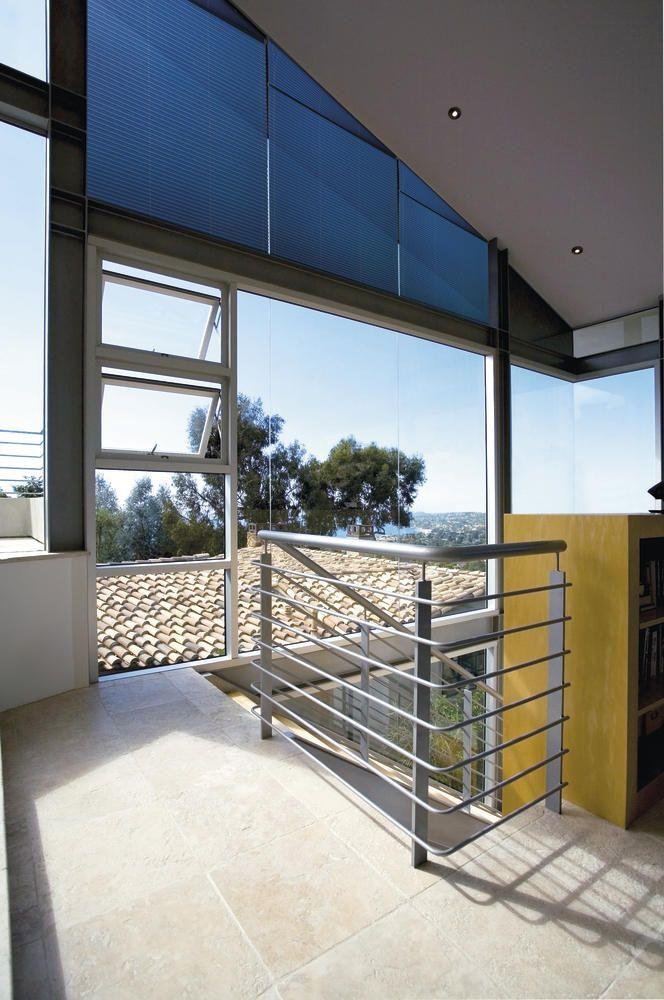 plissé gordijn , geschikt voor schuine ramen - plissé - Copahome raamdecoratie