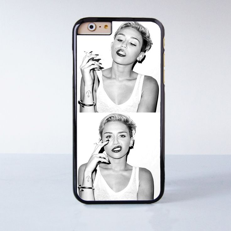 Miley Cyrus Plastic Phone Case For iPhone 6 More Style For iPhone 6/5/5s/5c/4/4s