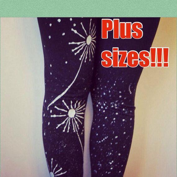 Leggings  Plus size workout  Yoga cotton leggings  by COOLLeggings