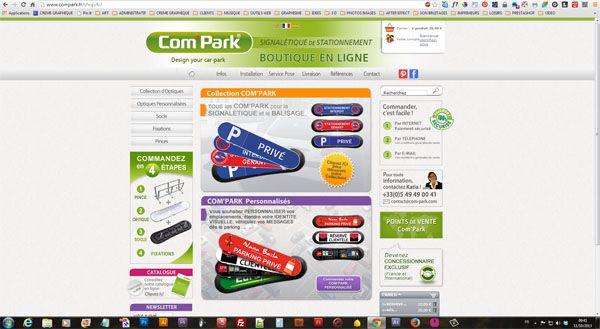 """Vous pouvez utiliser le site de vente Compark pour connaître les différentes collections de comparks (sans obligation d'achat). C'est très simple, vous allez sur le site :  http://www.compark.fr/shop/fr Et vous cliquez sur """"collection d'optiques"""" Si vous avez besoin d'un renseignement, n'hésitez-pas à appeler Katia au 05 49 49 00 41. Bonne visite !"""