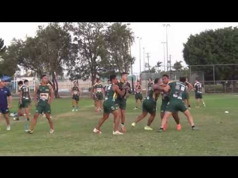 3 Man Tackle (Rugby League) - YouTube