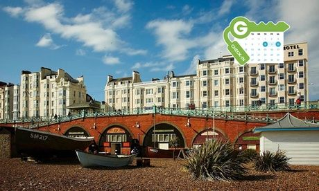 Get UK Deal: Brighton: 4* Double or Twin Room Stay with Breakfast for just: £69.0 Brighton: Double or Twin Room for Two with Breakfast and Option for Dinner at 4* Old Ship Hotel  >> BUY & SAVE Now!