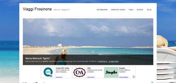 Viaggi Frosinone - Idee per Viaggiare!! by Elio Tornincasa, via Behance