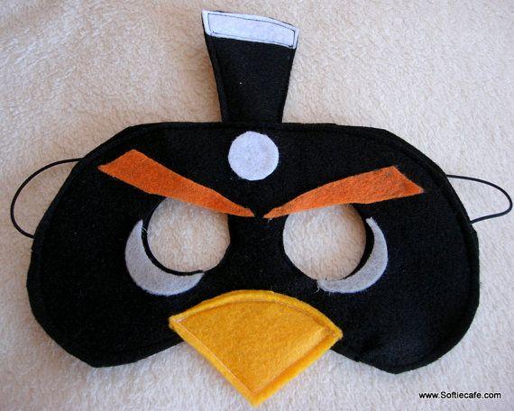 Black Bird mask