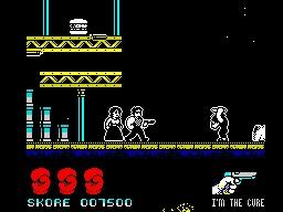 Sylvester Stallone - Cobra (Ocean - 1986): In Game