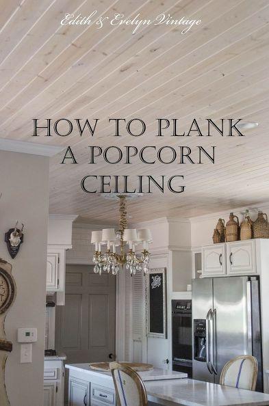 Best 25+ Wood plank ceiling ideas on Pinterest