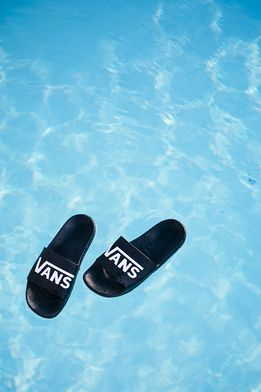 Summer is finally here. Get ready to make a splash in the new Slide-On sandals.