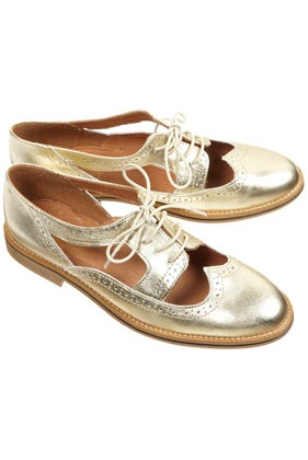 Topshop Krafty Cutout Brogues.