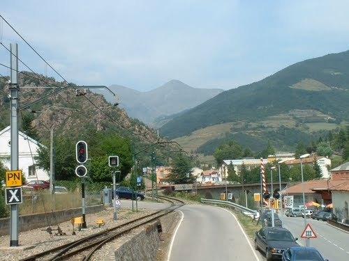 Ribes de Freser Spain  city photos gallery : Trainstation Ribes de Freser, Spain | Around The World | Pinterest