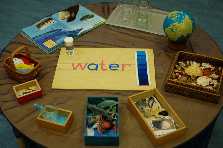 water-werkjes op de ronde tafel