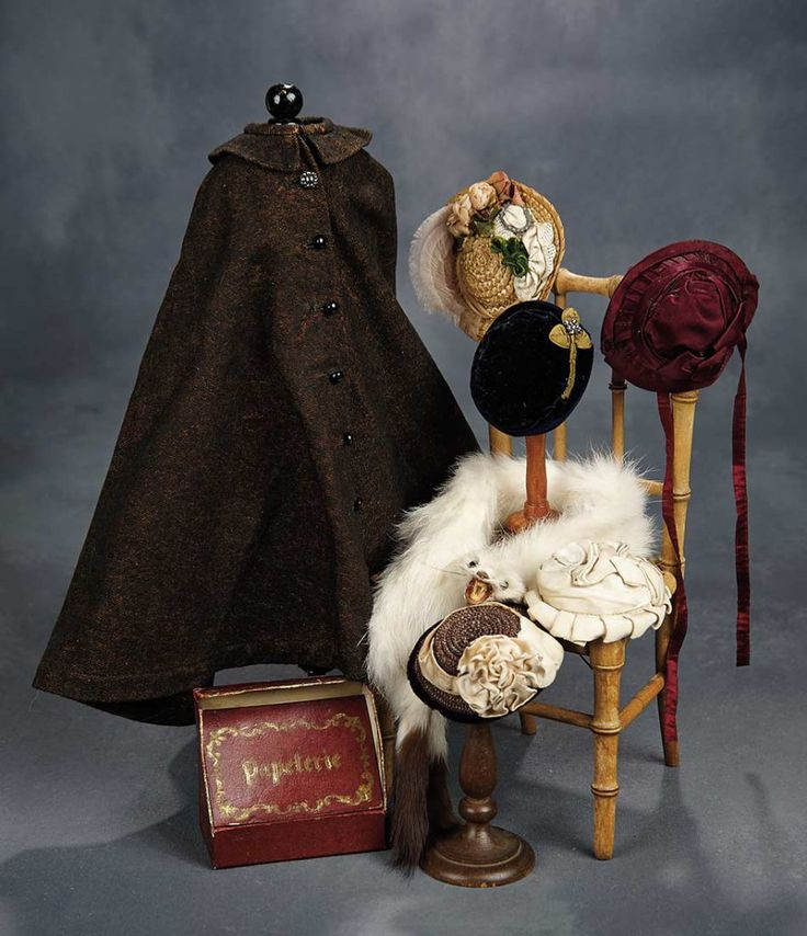 Beautiful French Bisque Poupee by Louis Doleac, with Trunk and Extensive Trousseau 6000/8000