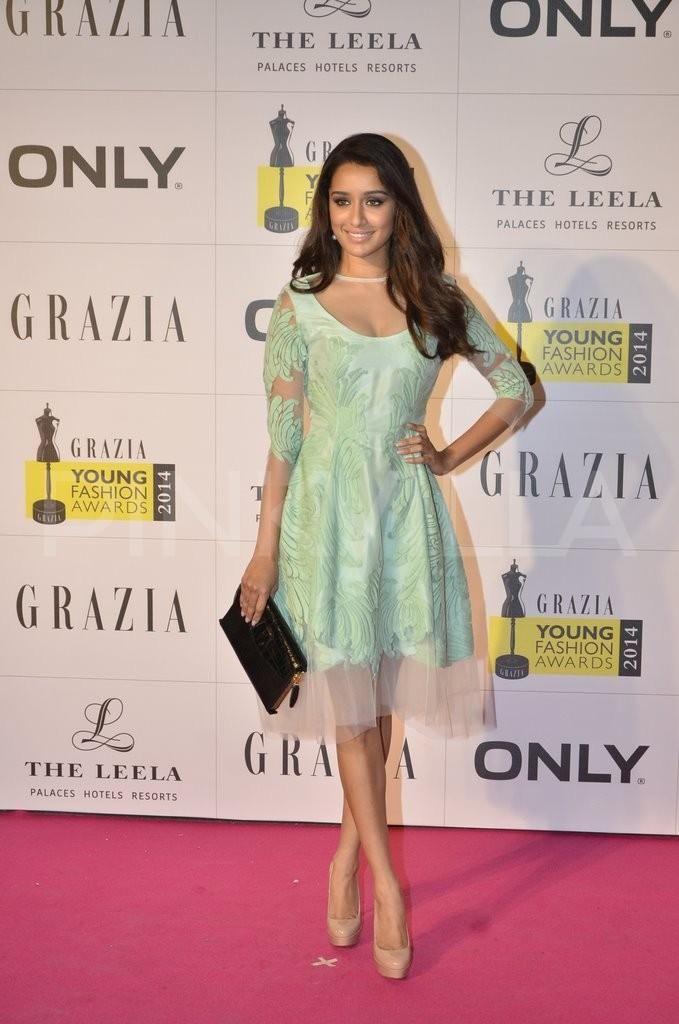 Shraddha Kapoor at Grazia Young Fashion Awards 2014 | PINKVILLA