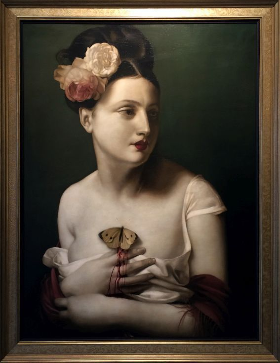 Mysterious Maidens and Menacing Idylls: The Paintings of Stephen Mackey | Haute Macabre