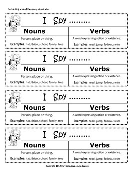 nouns and verbs. I like the sorting idea that she has using common and proper nouns.#Repin By:Pinterest++ for iPad#