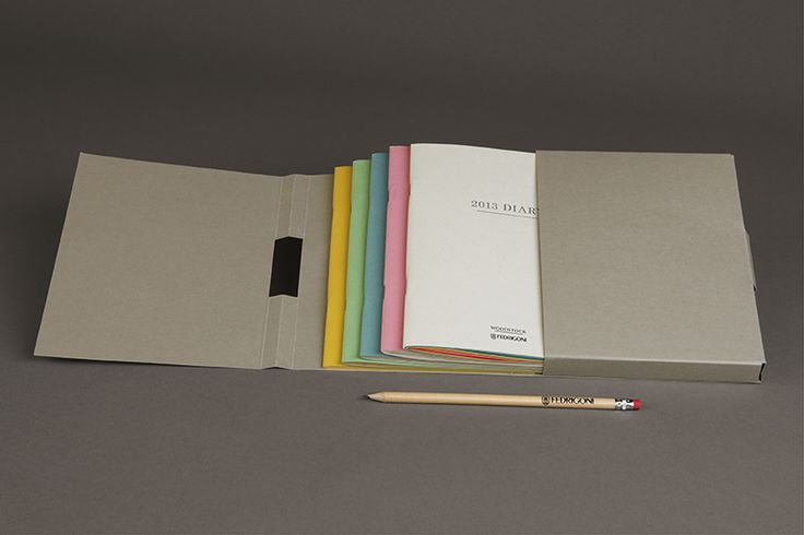 The One Off & Fedrigoni - Packaged notebooks