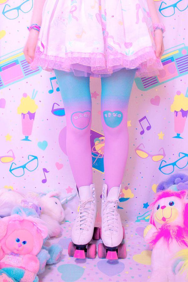 Fairy Kei, Pop Kei, Magical Girl, Pastel Fashion ♥ ♡ ♥ ロリータ, Deco Lolita, Loli, Fairy Kei, Pastel, Kawaii Fashion, Cute, Sweet Lolita, Pop Kei ♥ ♡