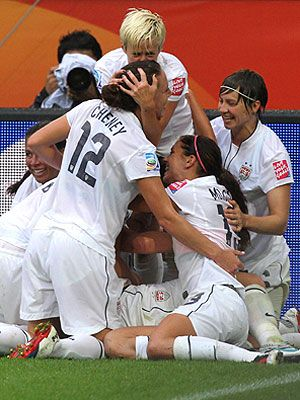 Canadian Women Soccer Team ~ Olympics Summer Games 2012
