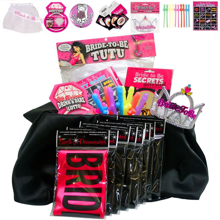 Hens Party Pack - Sash Pack