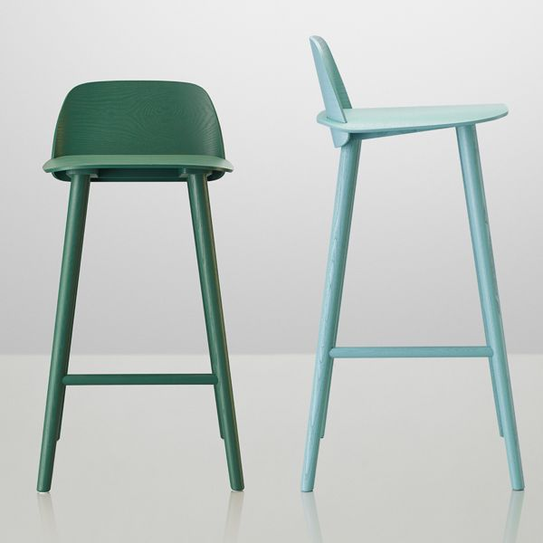 Nerd Bar Stools By Muuto Two Sizes Available Design