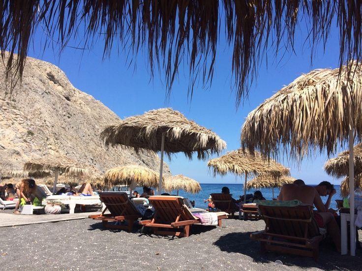 Beaches of Santorini, Greece