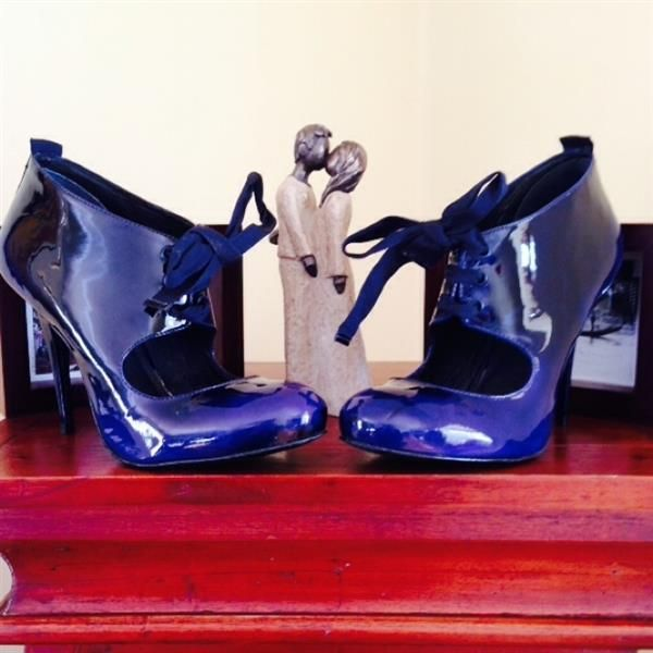 Topshop Navy Shoes  by  Linda
