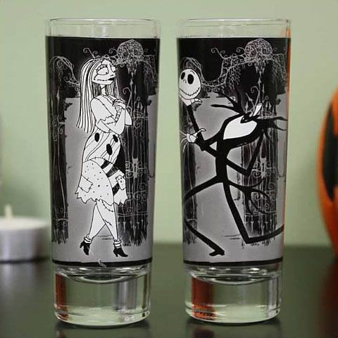 sunglasses for sale Nightmare Before Christmas Jack amp Sally Shot Glasses