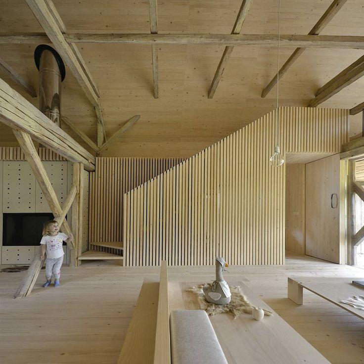 Alpine Barn Apartment, Bohinjska Bistrica, 2015 - OFIS Arhitekti