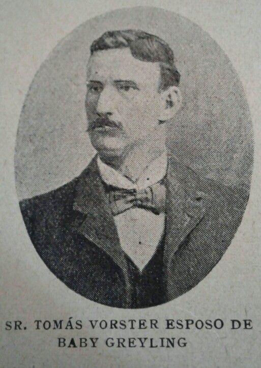 Mr Thomas Vorster Baby Grayling husband.