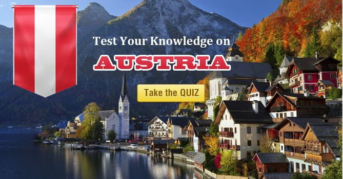 Can you crack this Quiz about Austria? Can you score 10/10? Participate and test your Knowledge NOW! #Austria #Vienna #Europe #Quiz #Geography #Countries #World