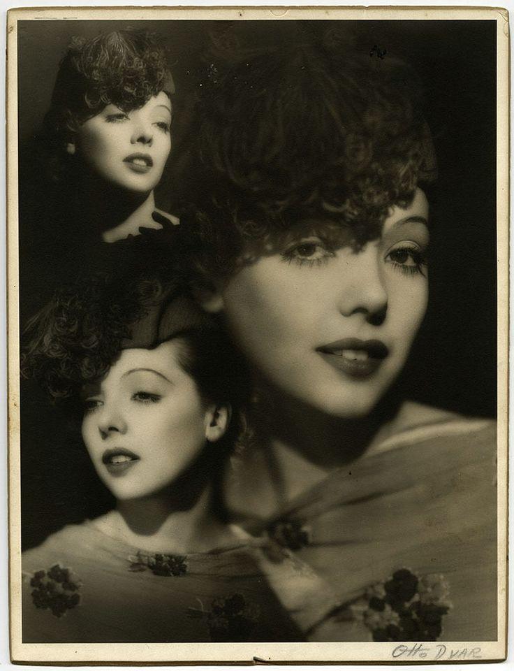Large Vintage 30s Hand Signed Otto Dyar Fine Art Deco Photograph Jessie Matthews
