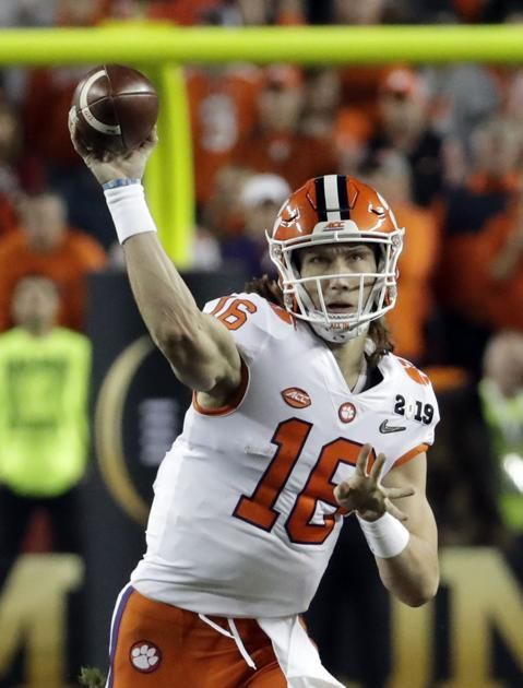 Image result for trevor lawrence clemson