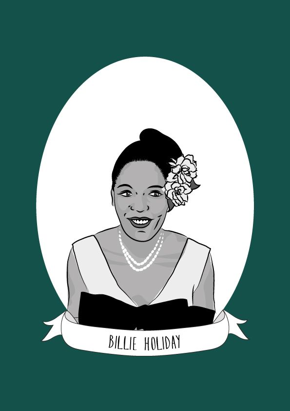 """Billie Holiday was a hugely influential American jazz musician and singer-songwriter. Holiday (real name Eleanora Fagan) had a difficult childhood, her mother Sadie Fagan worked """"transportation jobs"""", serving on passenger railroads which meant that..."""