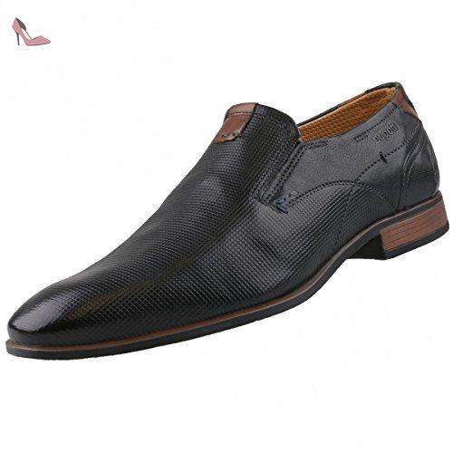 Bugatti 311234031000, Chaussures À Lacets Derby Pour Les Hommes, Noir (schwarz 1000), 43 Eu