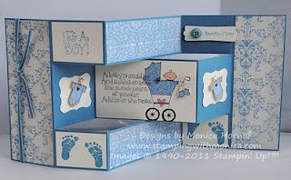 tri-fold card  Definitely gonna try this :D