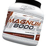 Magnum 8000 Mass Weight Builder  1.6kg (caramel-vanilla)  Massive increase in body weight  Advanced HARD GAINER (13% protein) with creatine and MCT oil  Trec Nutrition by MagicSupplements