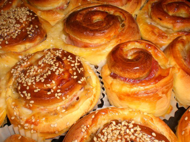 Entre alacenas y fogones...: Espirales saladas