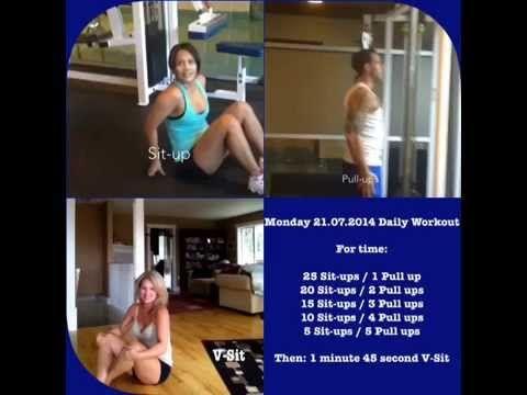 Monday 21.07.2014 Daily Workout