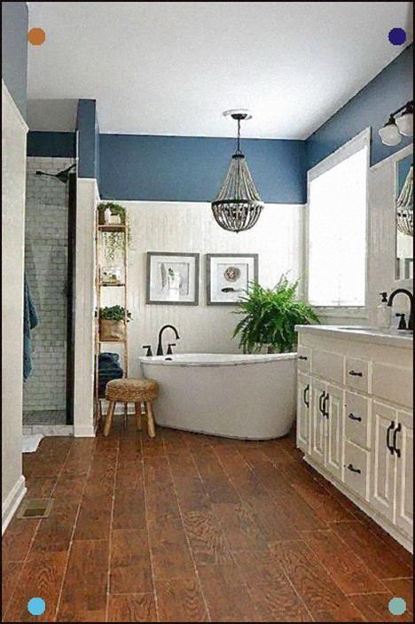 27 stunning farmhouse bathroom design ideas in 2020 on home inspirations this year the perfect dream bathrooms diy bathroom ideas id=80056