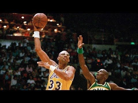 Take a look at Kareem Abdul-Jabbar's NBA highlights. Thank you for watching. Please subscribe. Music: B.o.B - Airplanes (Instrumental)