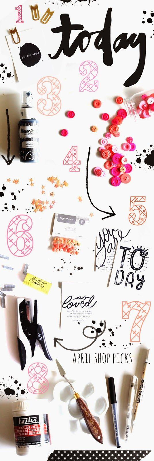 April Shop Picks for Studio Calico by Shanna Noel :)