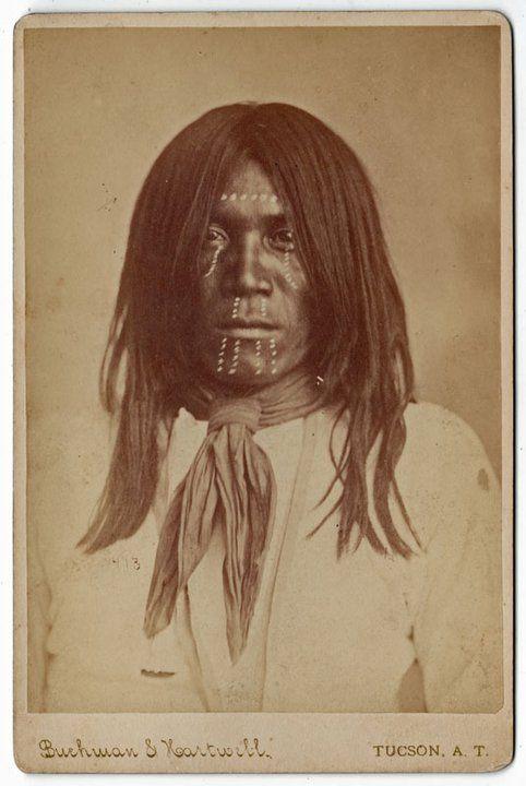 YUMA MAN , circa 1885