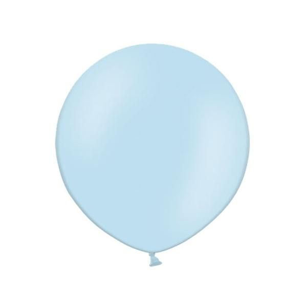 "These are high quality big round transparent latex balloons. They are simple and stylish on their own or with a group. These balloons are helium quality but are also suitable for filling with air and can be used for any occasion. Suitable for air or helium filling. Pack Quantity: 1 Size: 24"" (610mm)"