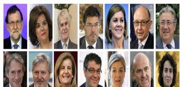 Los deportes y equipos favoritos de los ministros de Rajoy