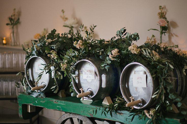 winery weddings - photo by Hayley Savage Photography http://ruffledblog.com/intimate-quintessentially-british-wedding
