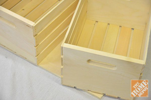 Diy Storage Ottoman The Home Depot Diy Platform Bed